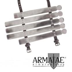 Wikinger Armschutz 2 mm Stahl
