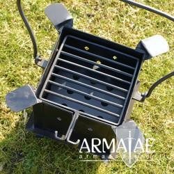 mobile Koch- und Feuerstelle
