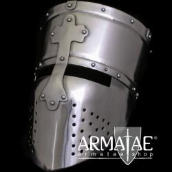 Kreuzritter Helm 1,6 mm Stahl