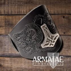 """Leder Armband """"Mjölnir"""""""