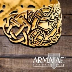 "Armreif ""Celtic"" Bronze"