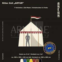 Zelt-Set 3 x 3 m Artur