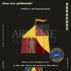 Zelt-Set 3 x 3 m Burkhard