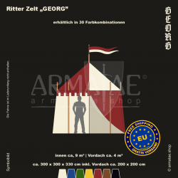 Zelt-Set 3 x 3 m Georg