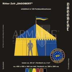 Zelt-Set 4,5 x 4,5 m Dagobert