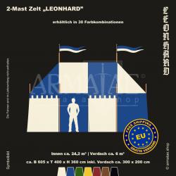 Zelt-Set 6 x 4 m Leonhard
