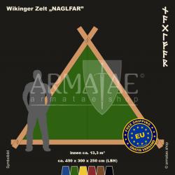 Viking-Tent Set 450 NAGLFAR