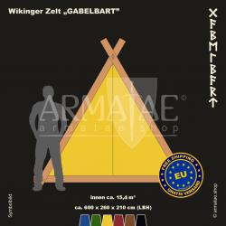 Viking-Tent Set 600 GABELBART