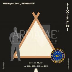 Viking-Tent Set 600 SIGWALDI