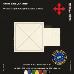 Zelt-Set 3 x 3 m Artur-plus