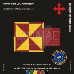 Zelt-Set 3 x 3 m Burkhard-plus