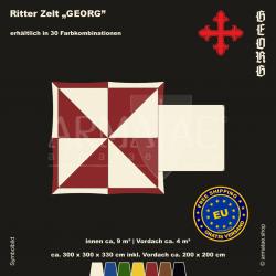 Zelt-Set 3 x 3 m Georg-plus