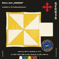 Zelt-Set 4,5 x 4,5 m...