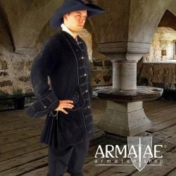 Piraten Gehrock Jack Schwarz