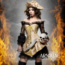 ☠️ Kostüm Set Hot Pirate &...