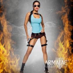 🎬 Kostüm Set Gamer Girl