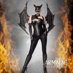 🎬 Kostüm Set Bat Girl Dämon