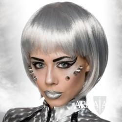 🎬 Perücke Space Silber