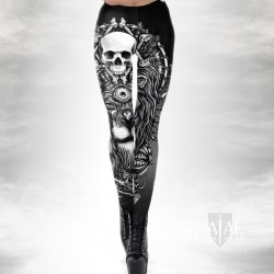 Lion & Skull Leggings