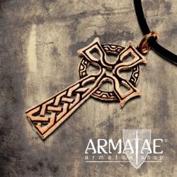 Anhänger Keltenkreuz Bronze